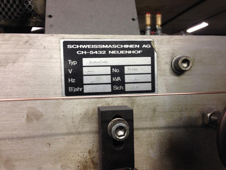 SMAG P 600 bodymaker welder
