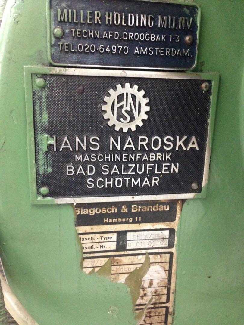 Naroska  stripfeed press