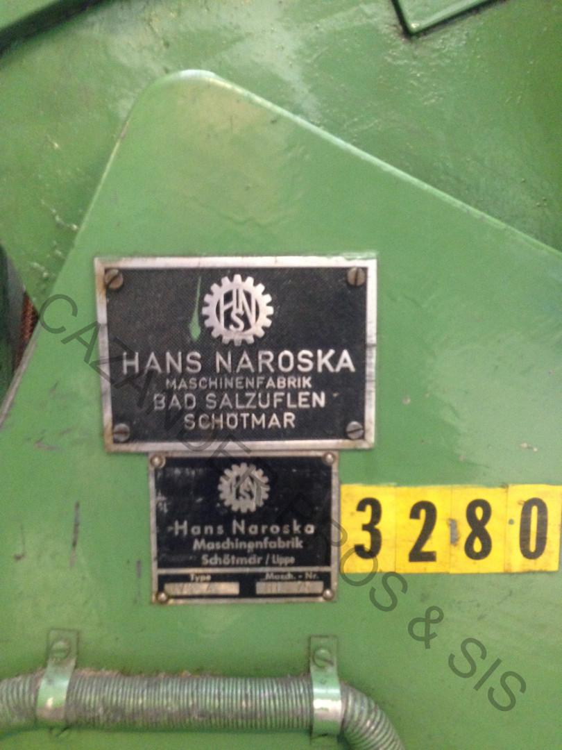 machine plate Naroska