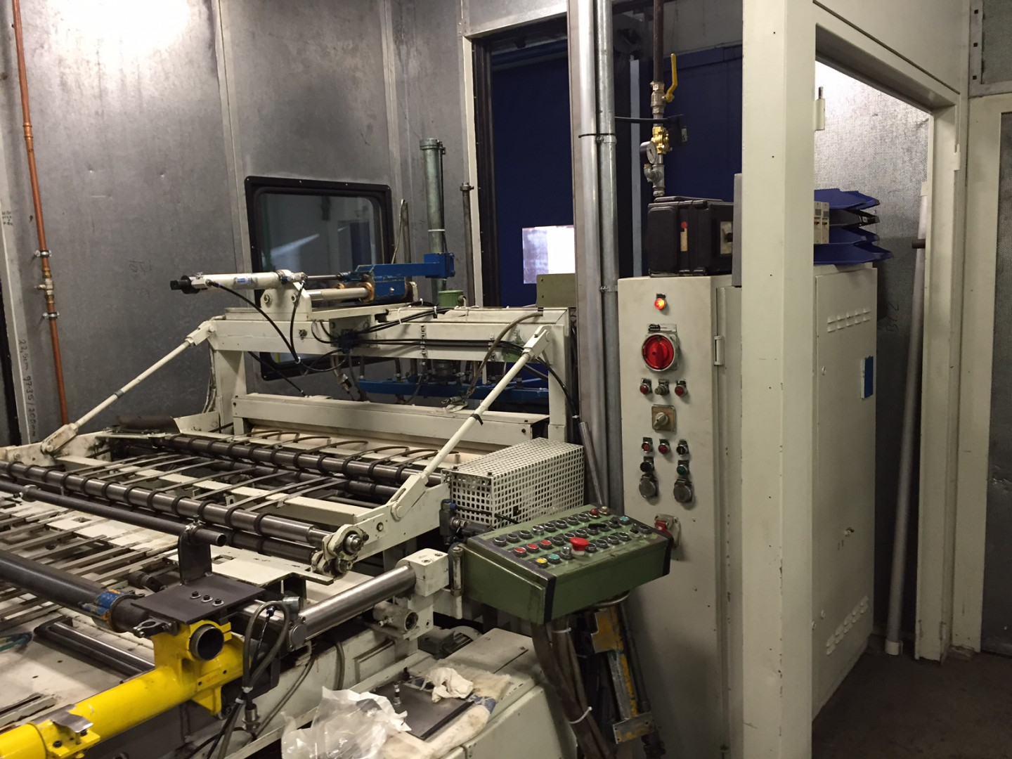 Naroska StAZI-NC sheetfeed press