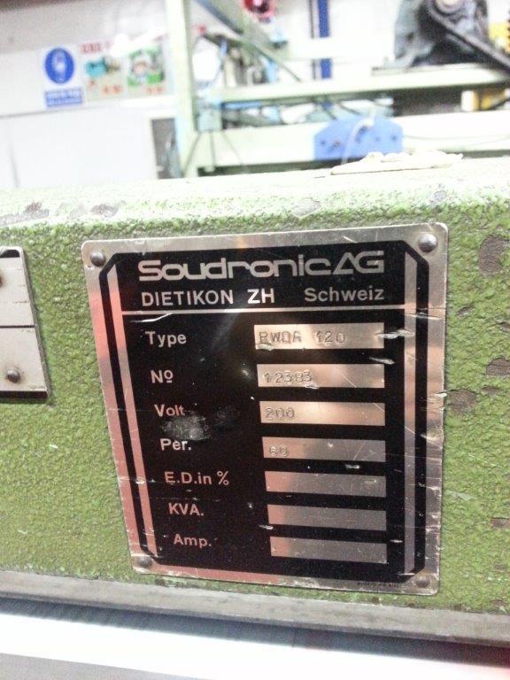 Soudronic RWDA 120 étireur soudeur