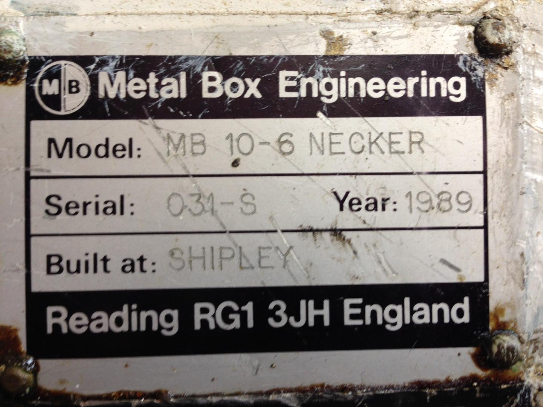 Metal Box 10-6N / 86D spin necker - spin flanger