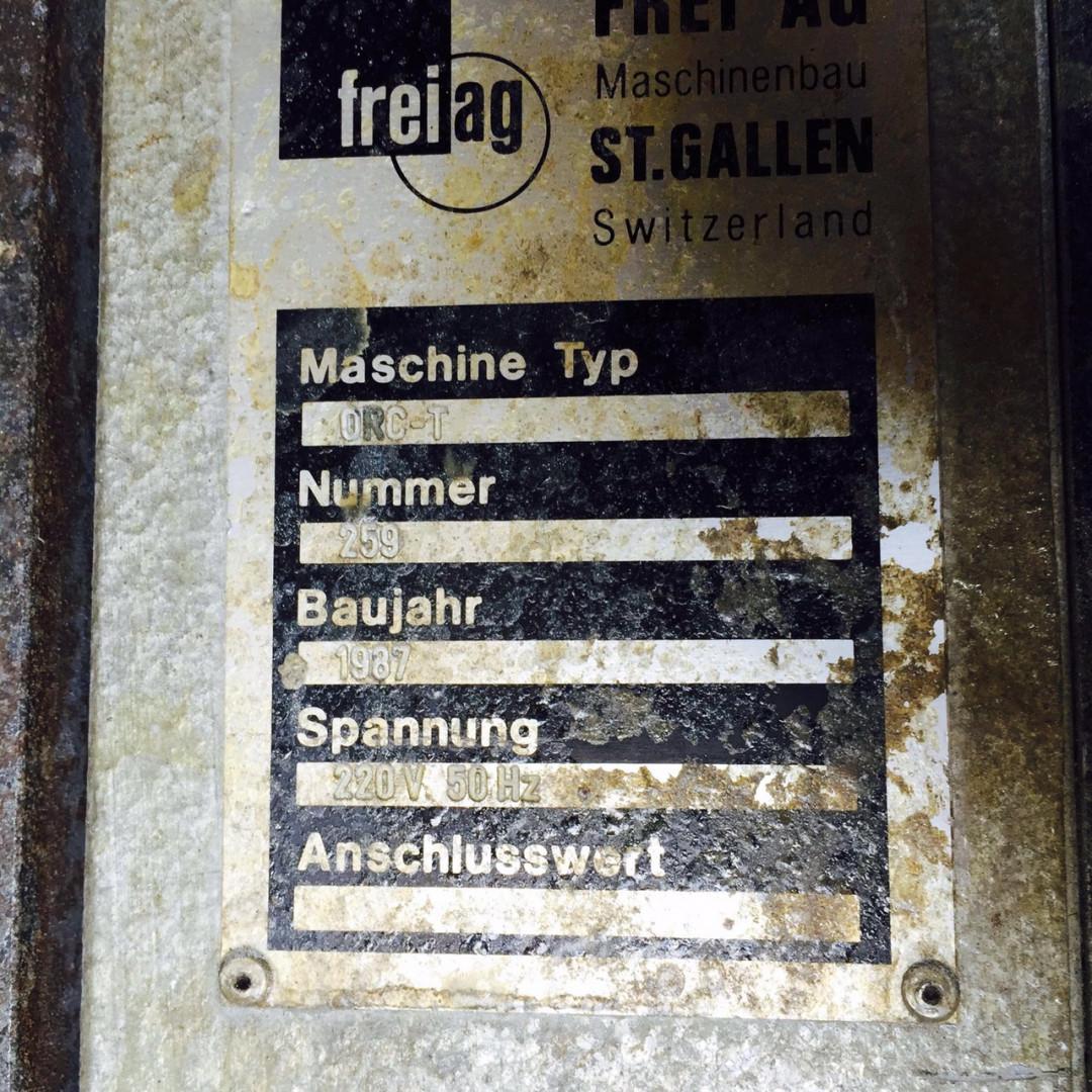 machine plate