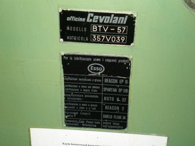 Cevolani BTV 57 bordeuse