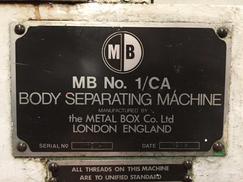 Metal Box 1/CA parter