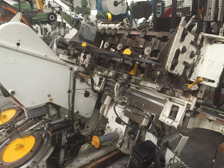 Metal Box 314 prensa de tiras - enrollador de disco