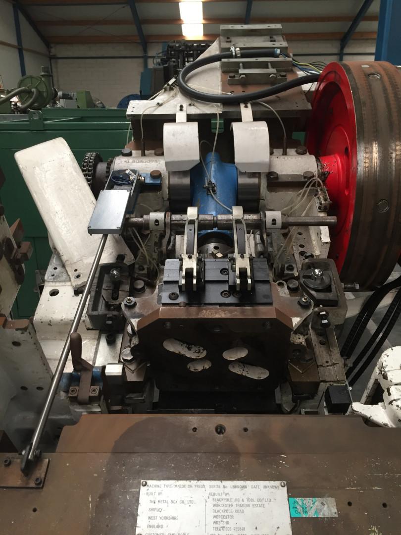 Metal Box 314 stripfeed press