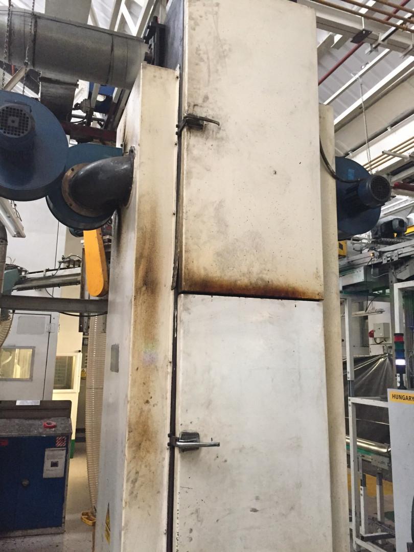 Penalver MCR-400-S lacquering unit - pocket oven