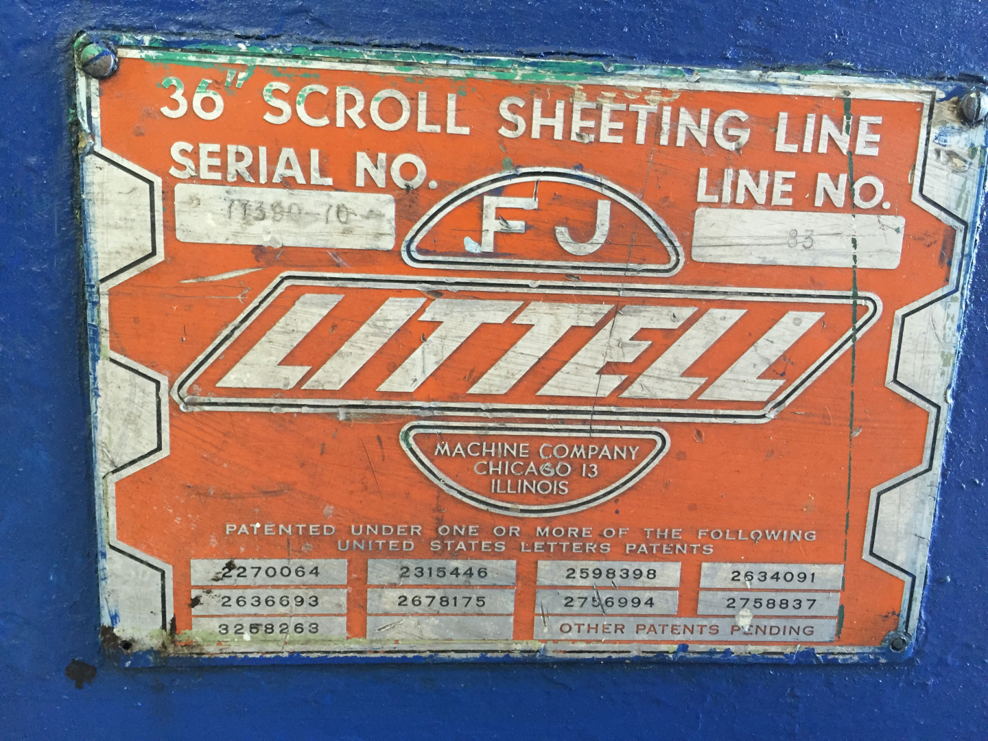 Littell BR3 miscellaneous