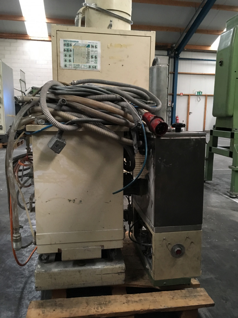 Frei DPC powder unit