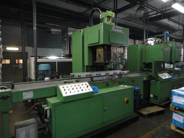 Sargiani panelling machine