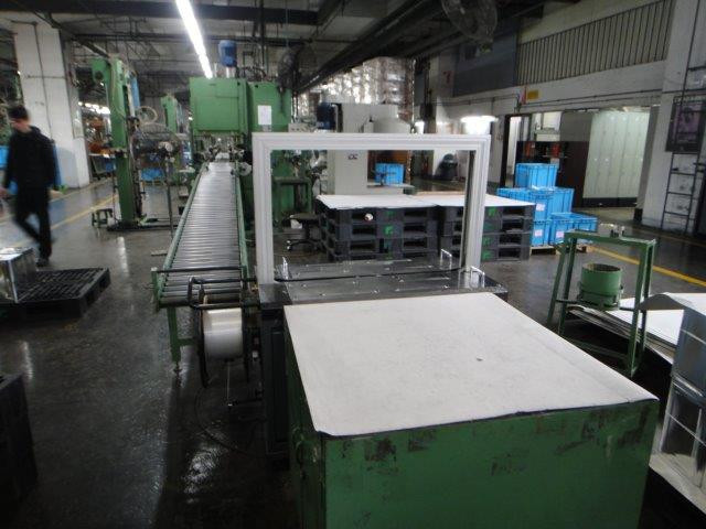 Sargiani back-end with FK banding machine