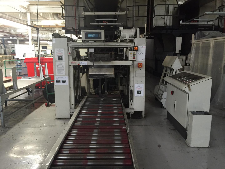 On factory floor