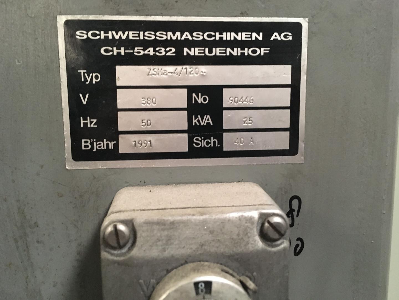 machine indication plate