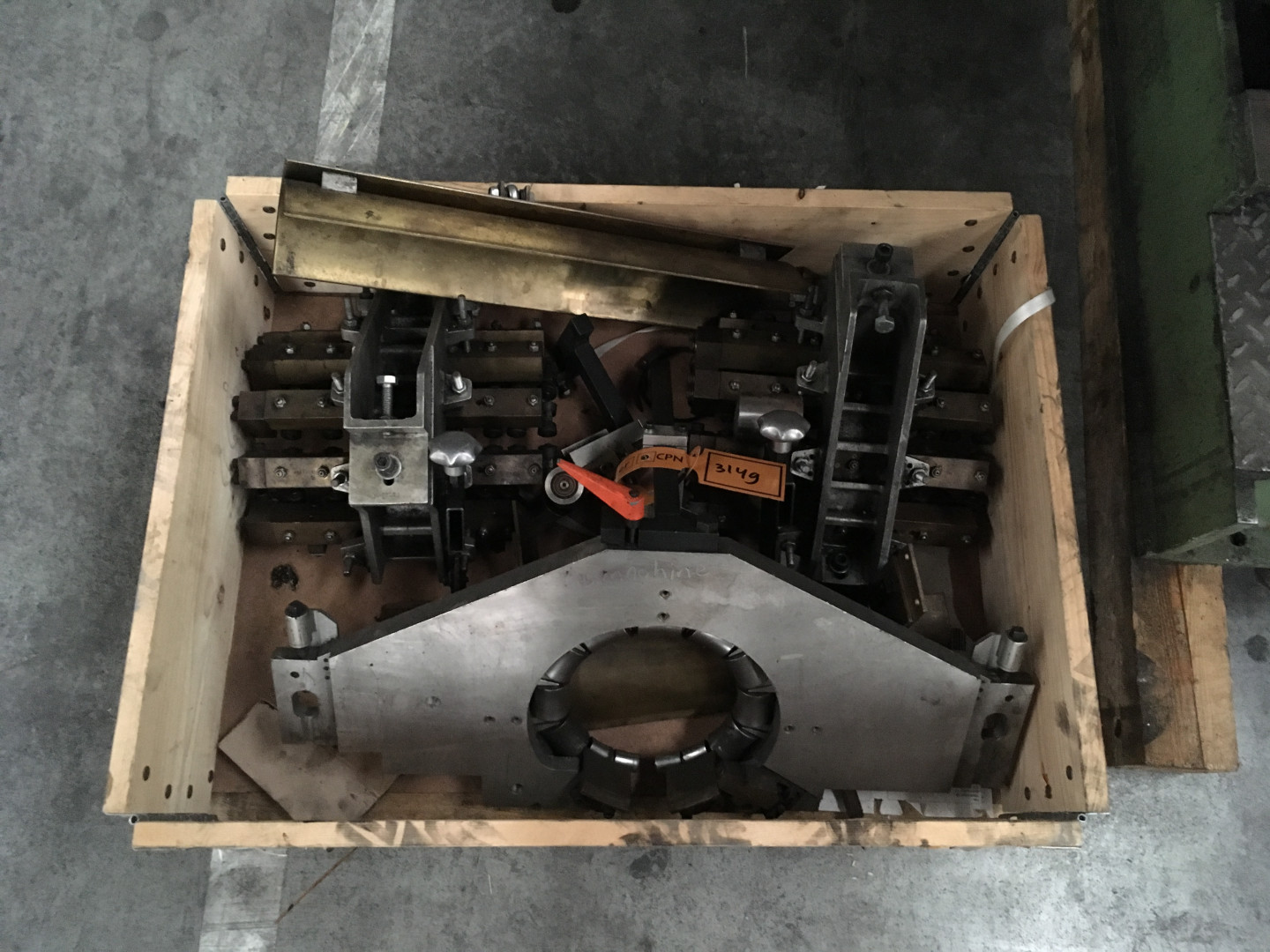 box with spares