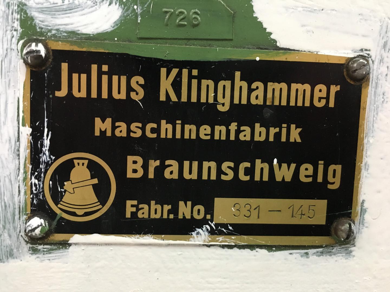 Klinghammer identification plate