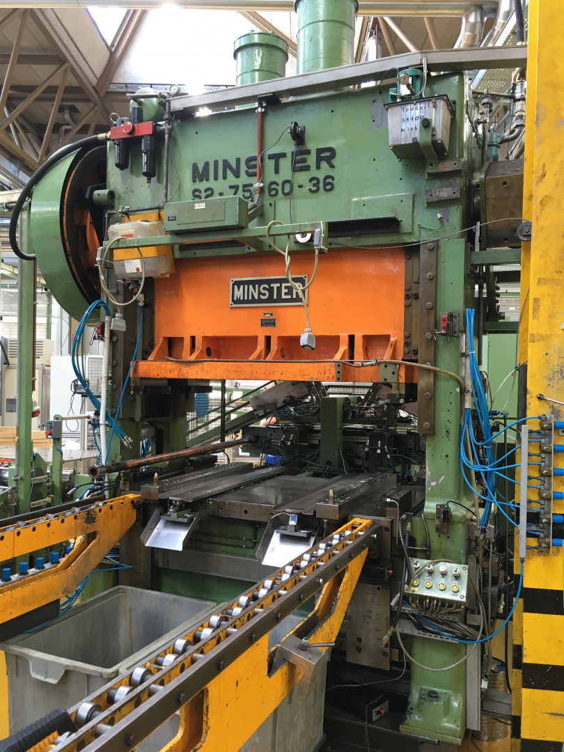 Minster S2-75-6-36 forming press