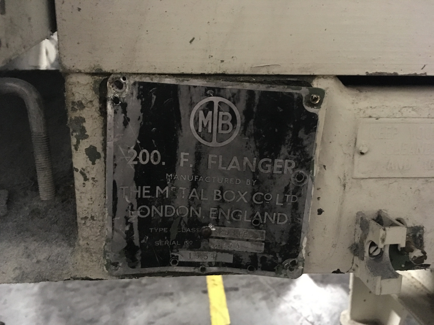 Metal Box 200 F flanger