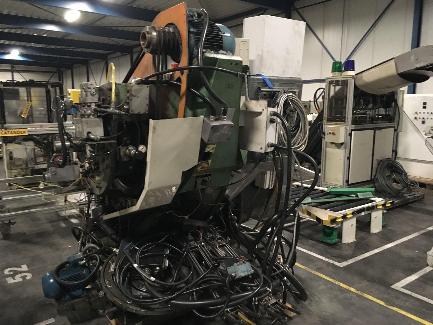 Metal Box 314 press with curler
