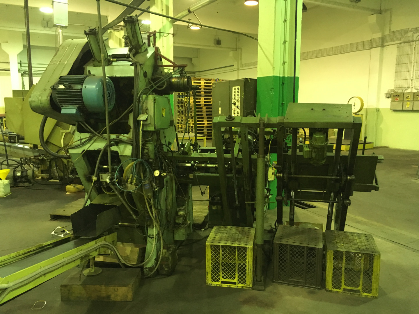 Production line 100 gram Dingley drawn cans