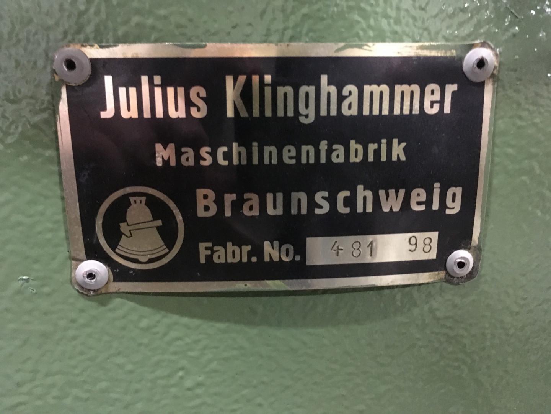 Klinghammer 481 bordeuse