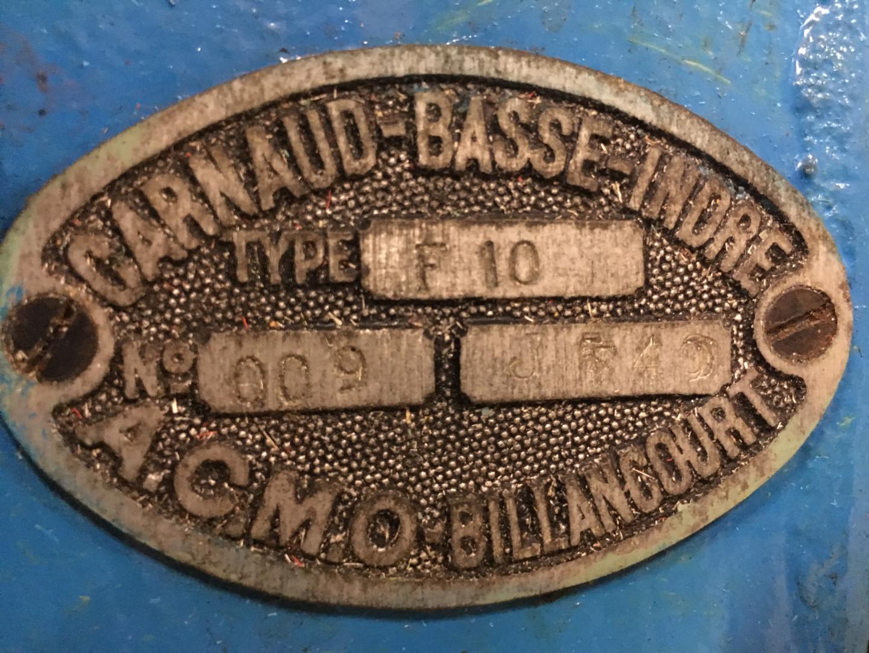 Carnaud F10 flanger