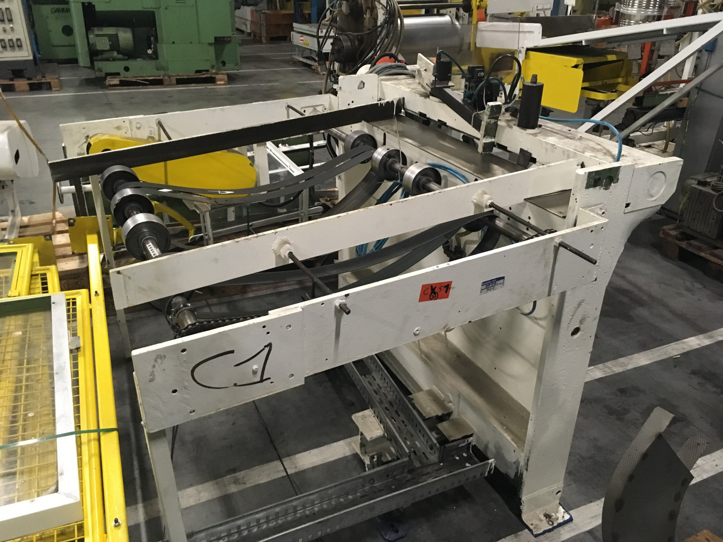 Krupp SSav sheet feeder