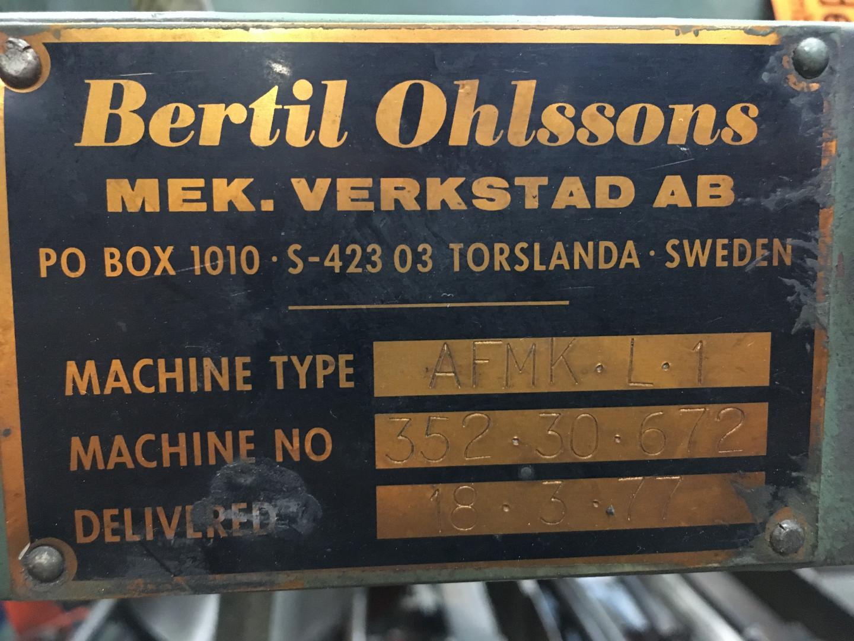 Bertil Ohlsson AFMK-L 1 extenseur
