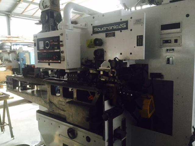 Soudronic ABM 180E bodymaker welder