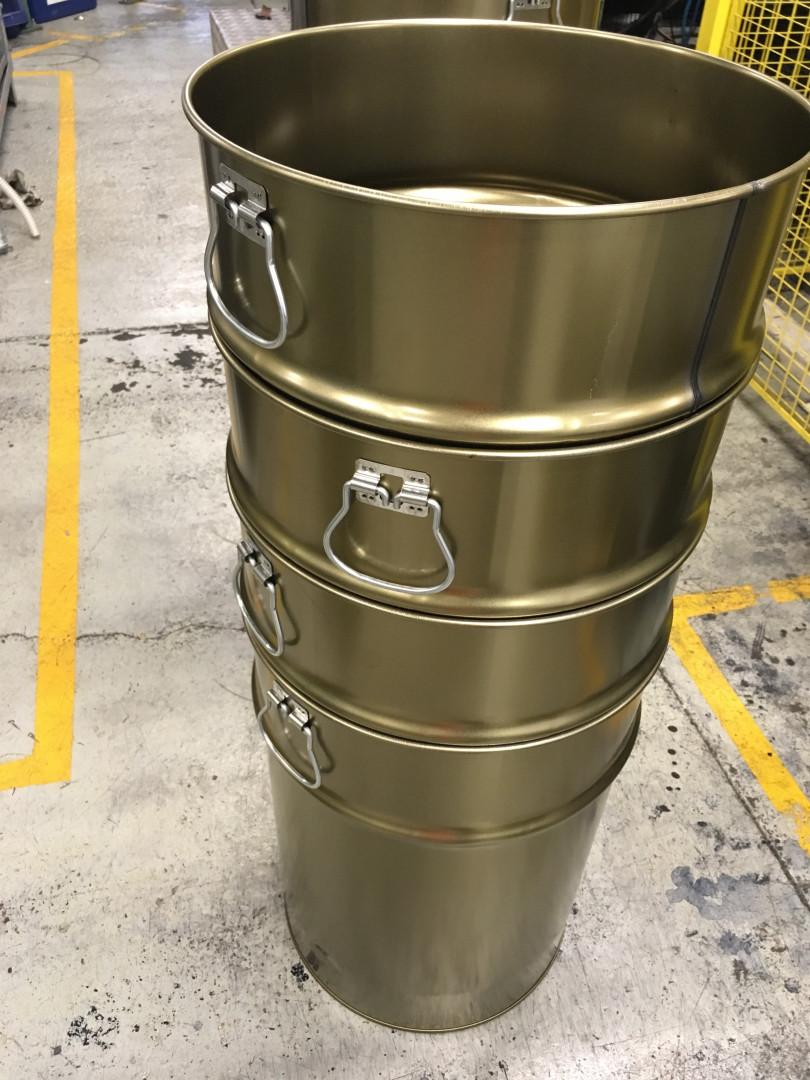 68 liter samples stack