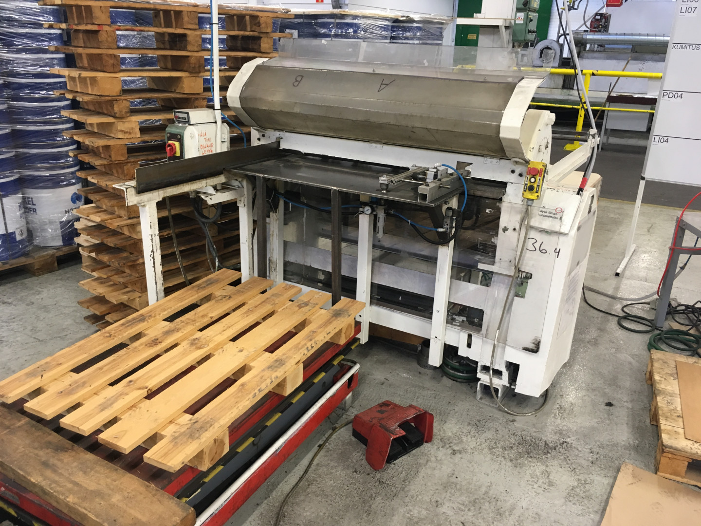 Dundeberg  single slitter - stacking unit