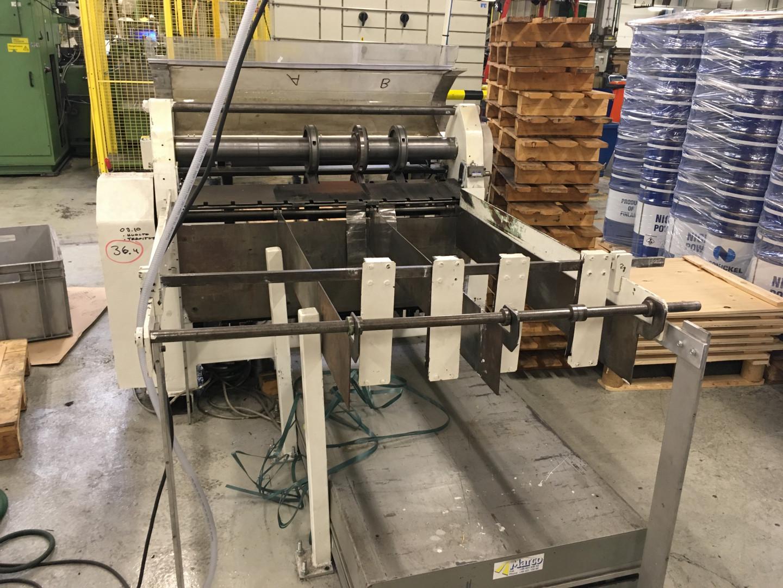Dundeberg  single slitter - stacking unit