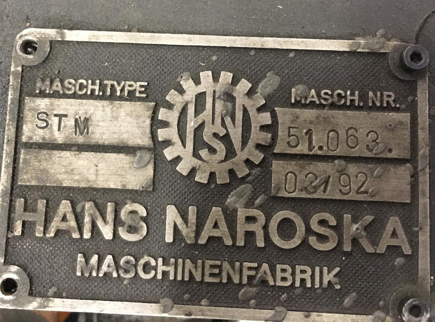 Naroska AGA II - Neitz  curler - compound liner - pocket oven