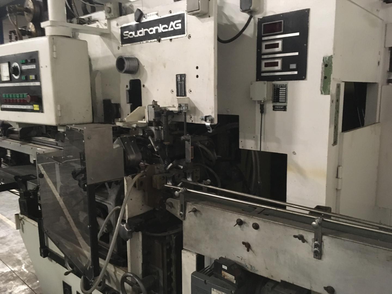 Soudronic ABM 150 E soldadora de cuerpo