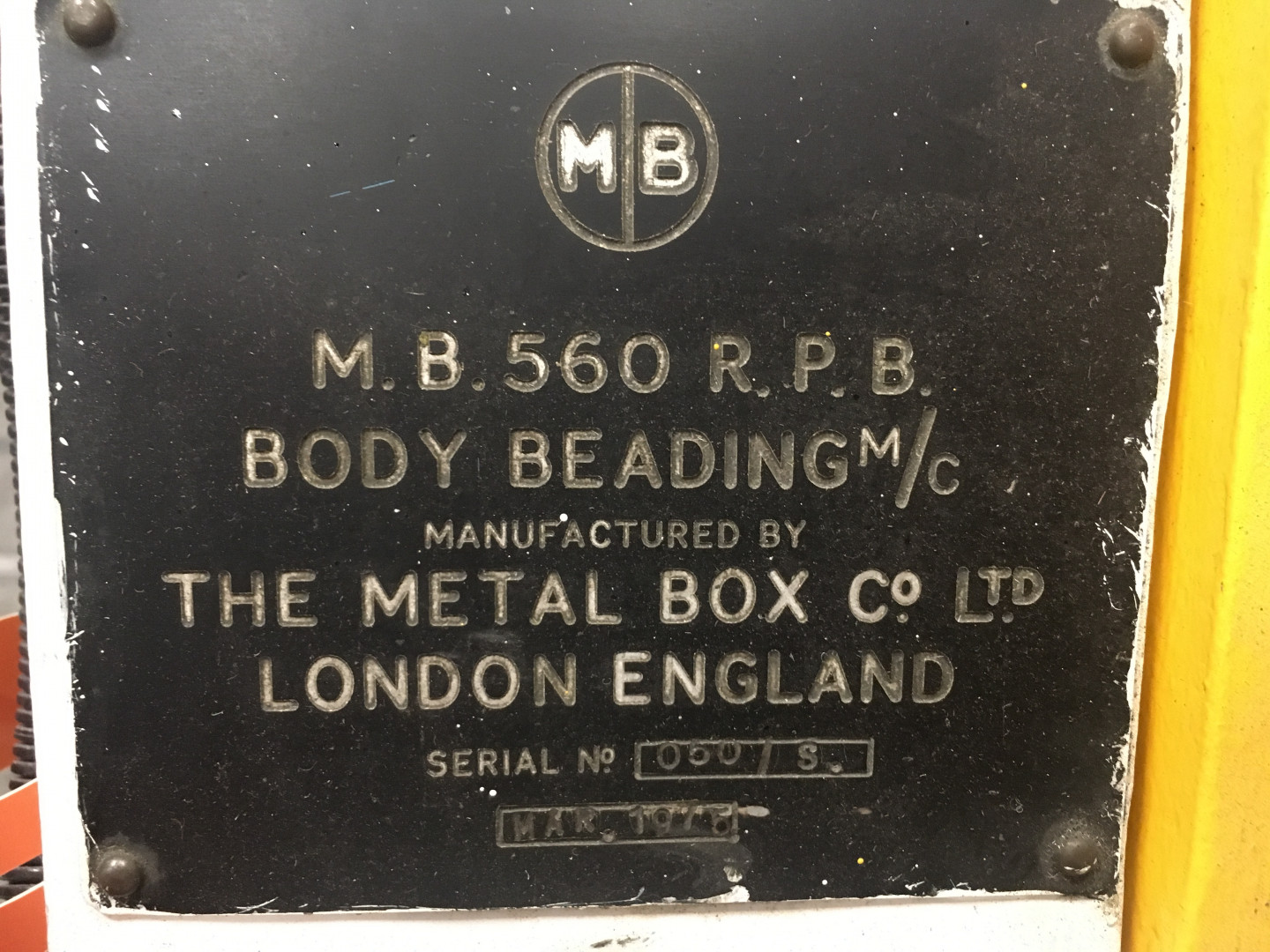 machine identification