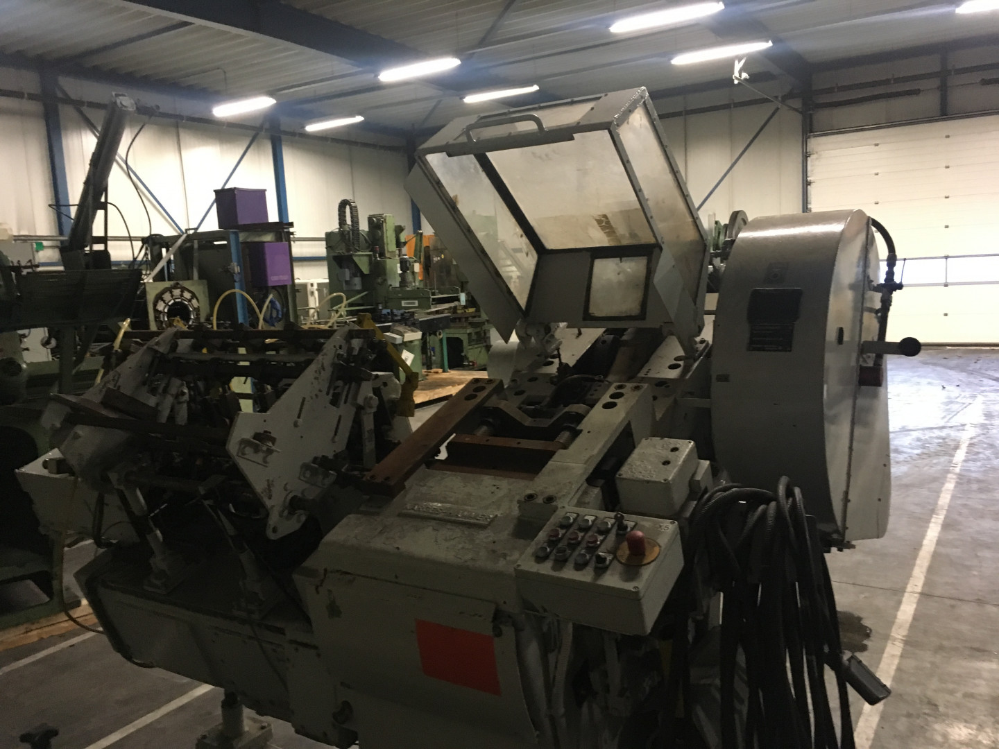 Karges Hammer ASts 230 stripfeed press