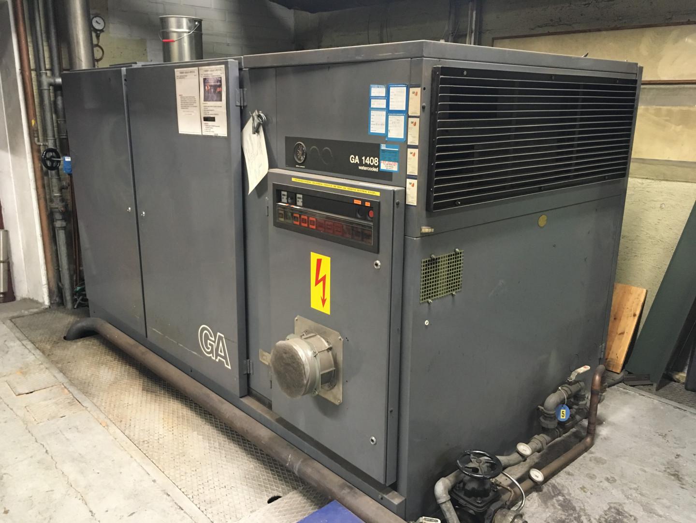 Atlas Copco GA 1408 compressor
