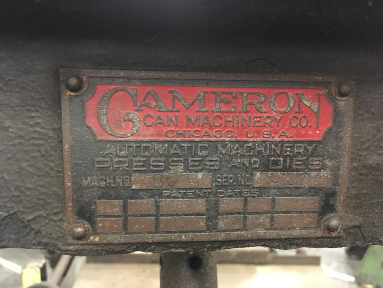 Cameron 80 bodymaker