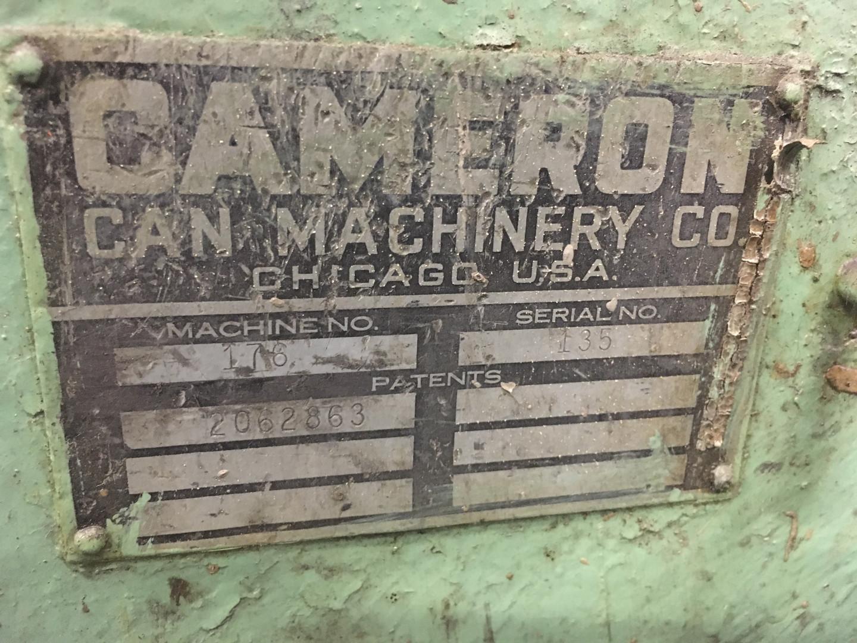 Cameron 176 die liner