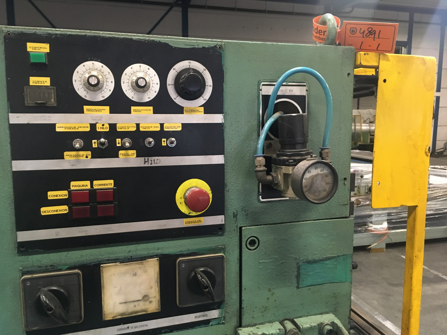 Soudronic NRZd 12/AE bodymaker welder