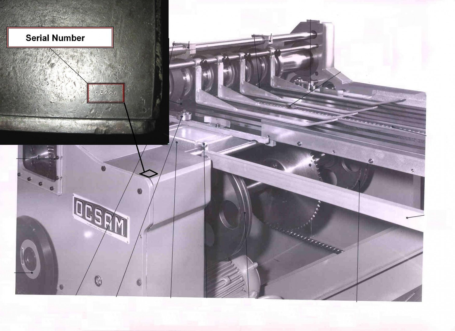 Ocsam CA1/CA3 duplex slitter