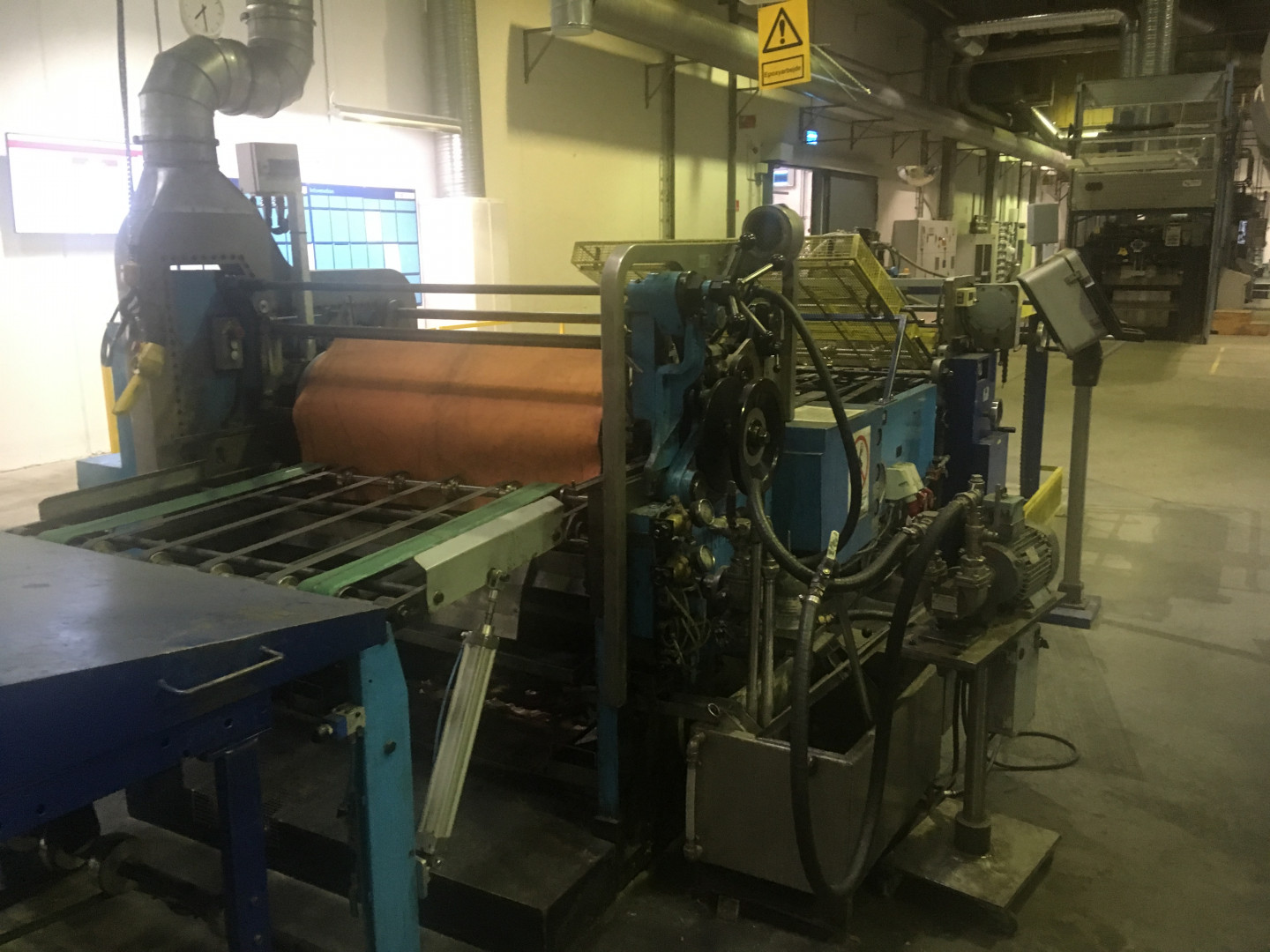 LTG-Mailander 770 / 469 sheet feeder - varnish coating machine