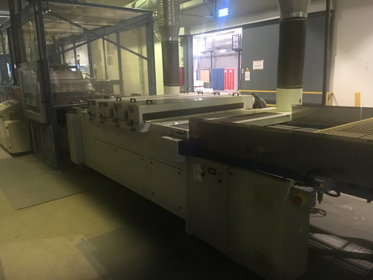 KBA 3-colour printing line with IST UV-oven