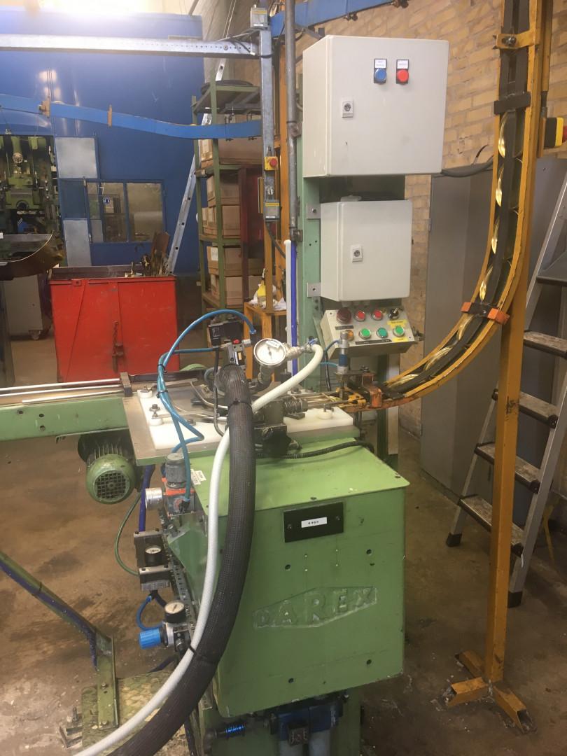 Línea de producción de tapas de tabaco Ø 115 mm