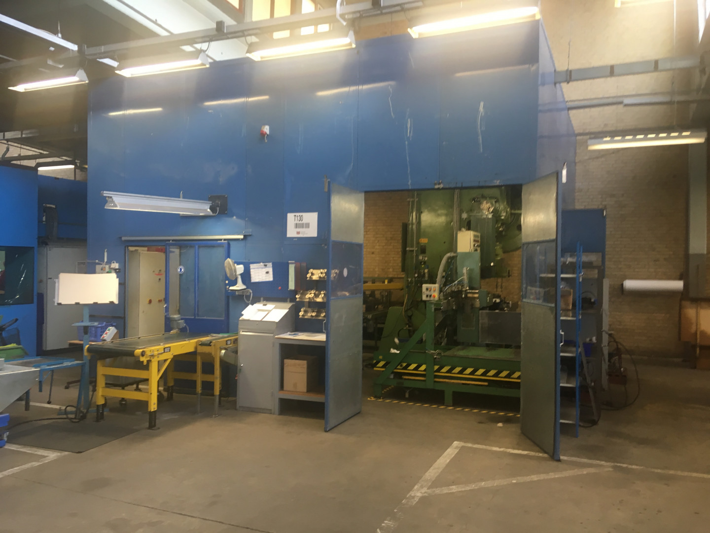 Round deep drawn CAN production line Ø 90 and Ø 103 mm