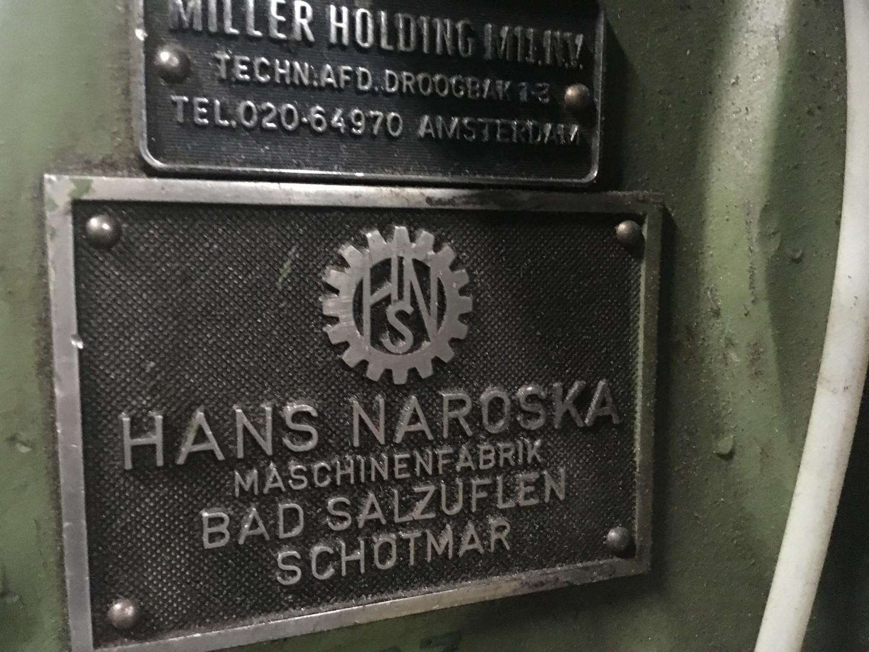Naroska StA 0/I stripfeed press