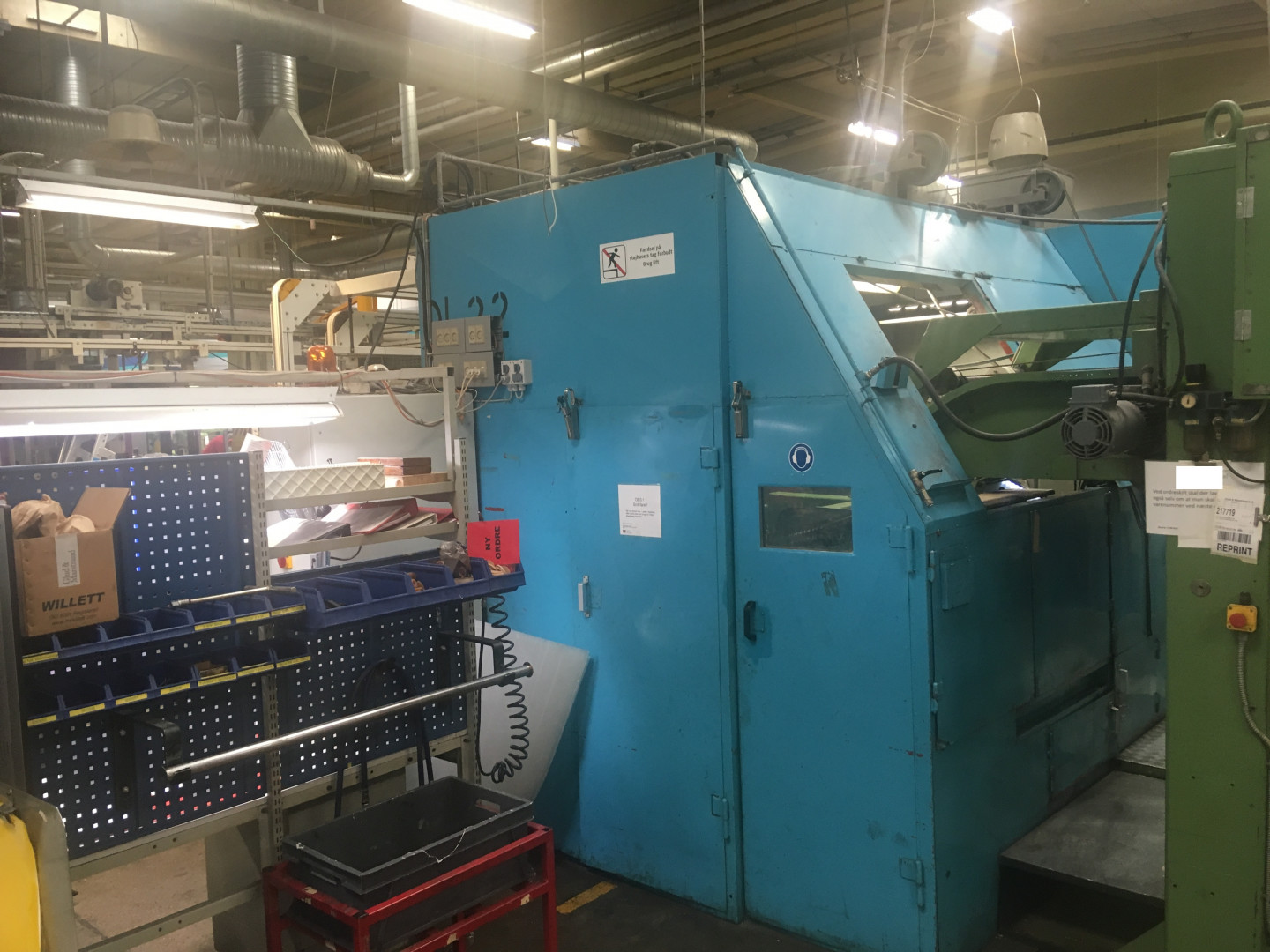 Metal Box 314 stripfeed press