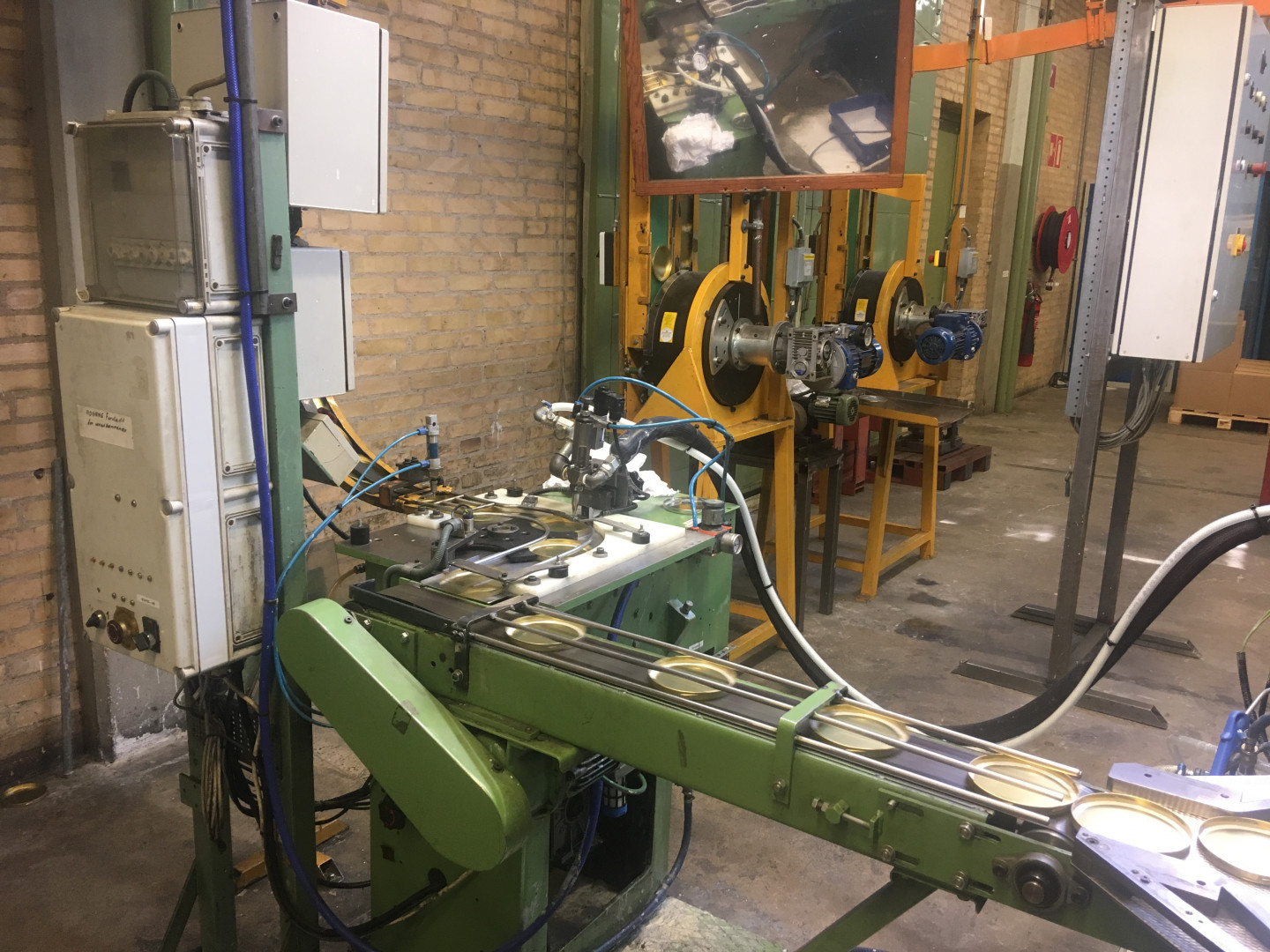 Round LID production line Ø 90 and Ø 103 mm