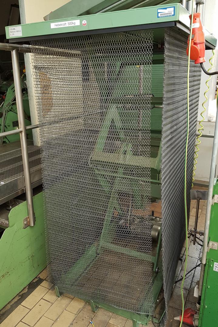 Meili EVL5 unidad de apilado - mesa elevadora