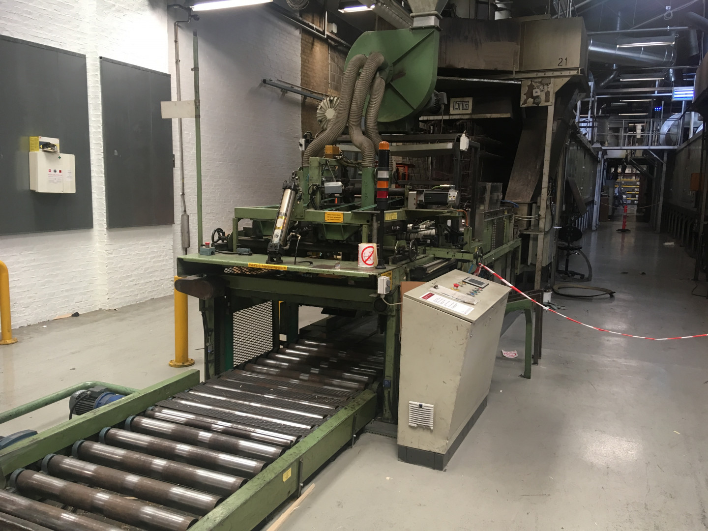Mailander 162 printing line with LTG tunnel-oven